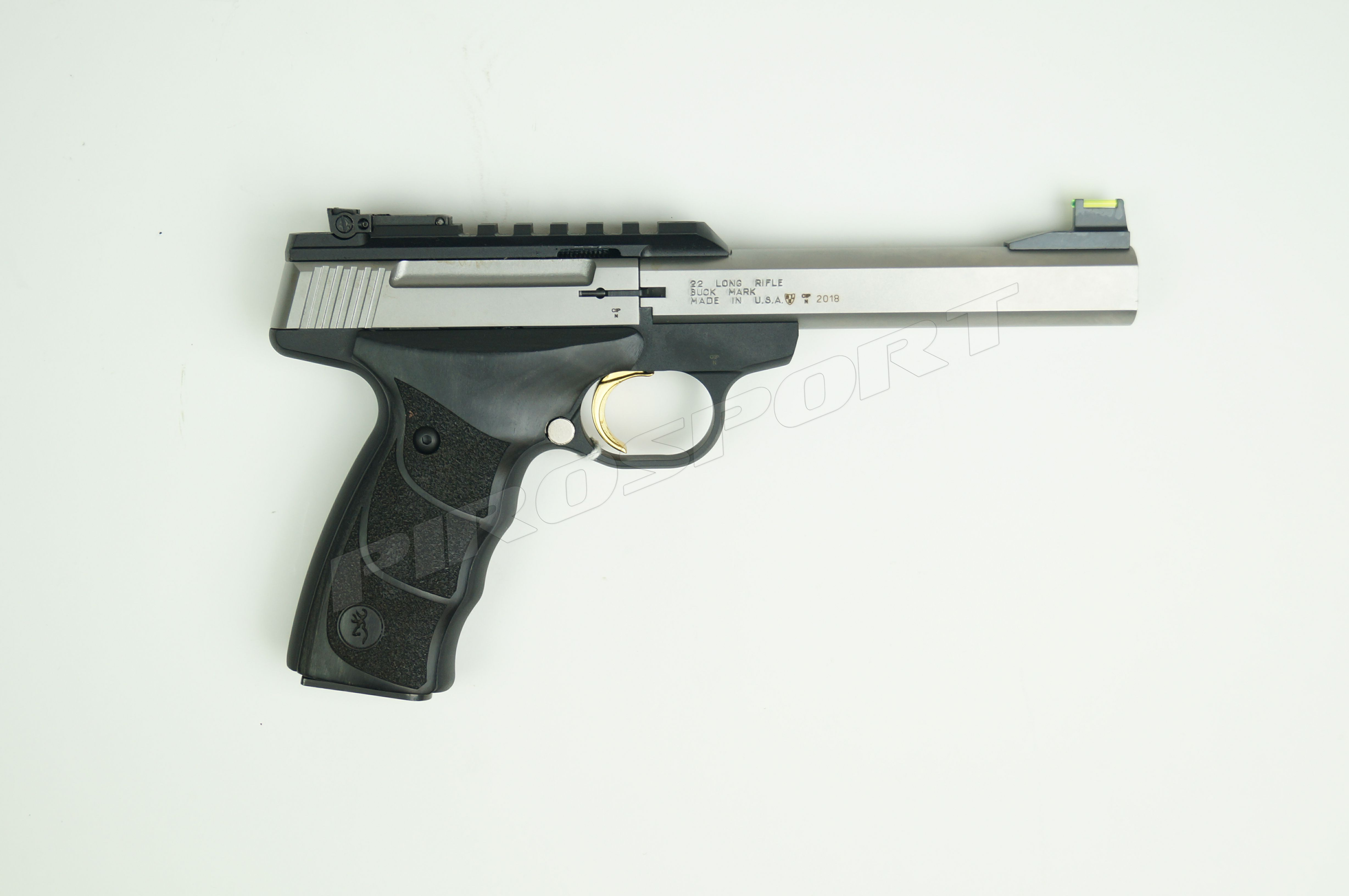 Browning Buck Mark Plus Stainless UDX .22LR €629,95 voor €549,95