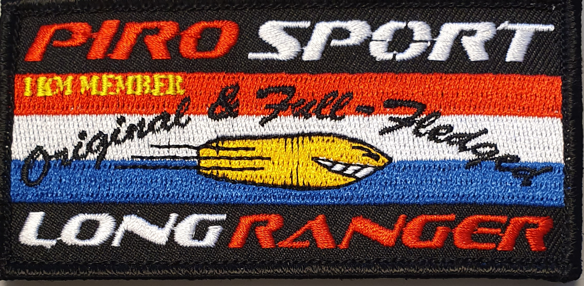 PIRO Long Ranger 1KM Badge